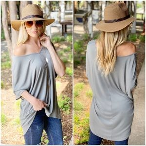 Infinity Raine Tops - ✨RESTOCKED✨V neck high low tunic